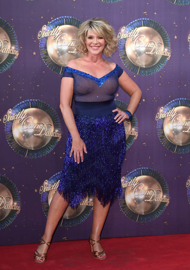 Ruth Langsford took part in Strictly Come Dancing in 2017