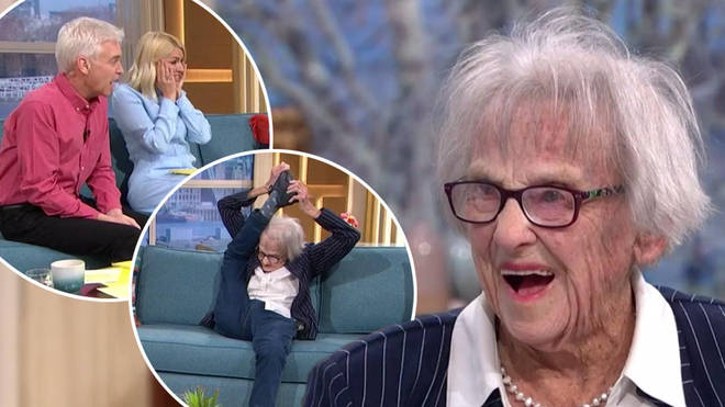 Marion Watson appeared on This Morning