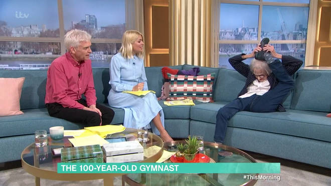 Marion Watson on This Morning