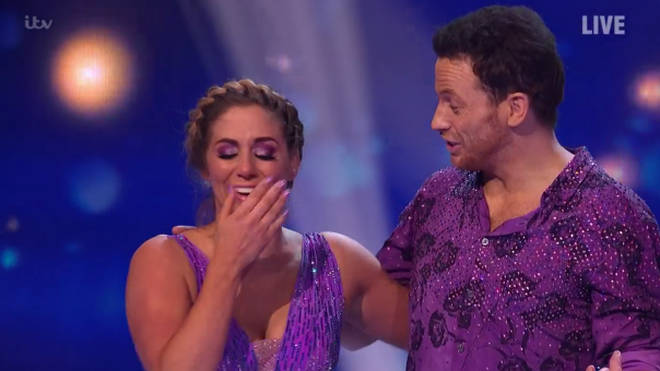 Joe Swash and Alex Murphy were named winners of Dancing On Ice 2020