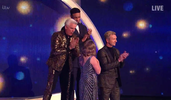 John Barrowman looked surprised by the results