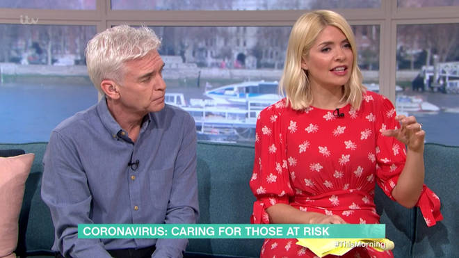 Holly Willoughby asked for Coronavirus advice