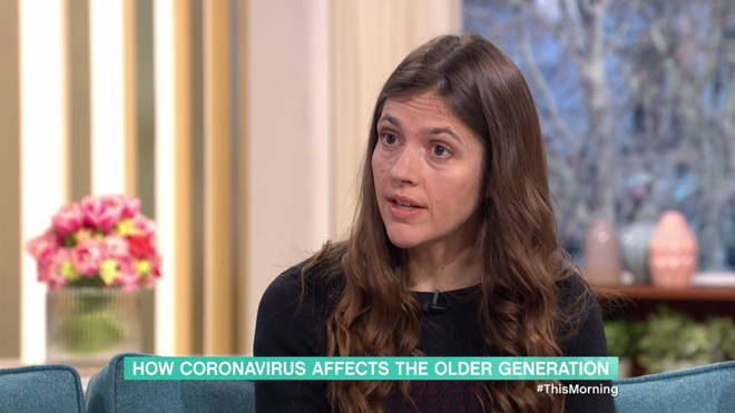 Doctor Claire Steves gave Coronavirus advice on This Morning