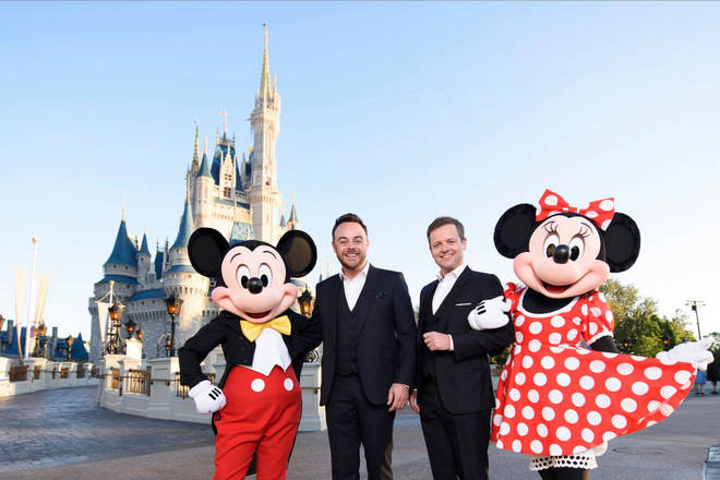 Ant and Dec's Saturday Night Takeaway is set to take place at Disney World Orlando