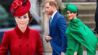 Kate Middleton is reportedly taking Harry and Meghan's exit 'badly'