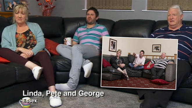 Lynne and Pete with son George Gilbey, are Gogglebox legends