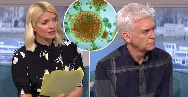 Holly Willoughby and Phillip Schofield are being protected on This Morning