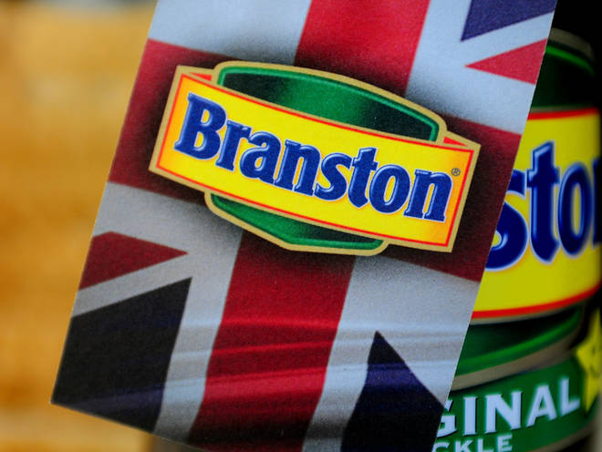 Branston has been recalled by their manufacurers