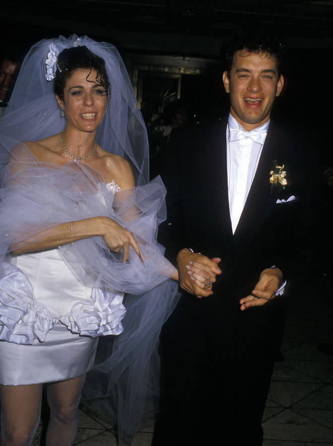 Tom and Rita on their wedding day in April 1988