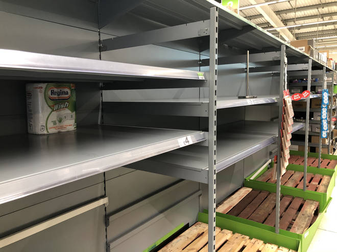 Brits are stockpiling across the country