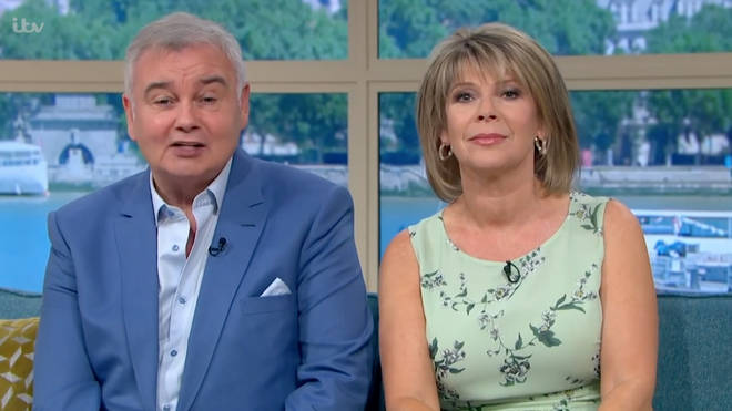 Eamonn Holmes said his wife Ruth was under the weather