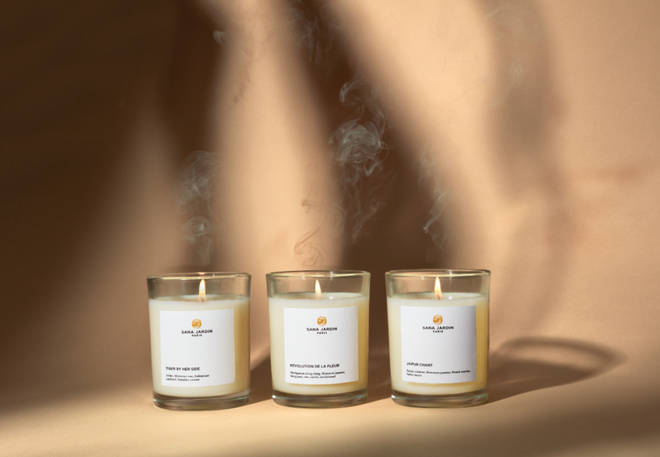 Sana Jardin candles are exotic and unforgettable