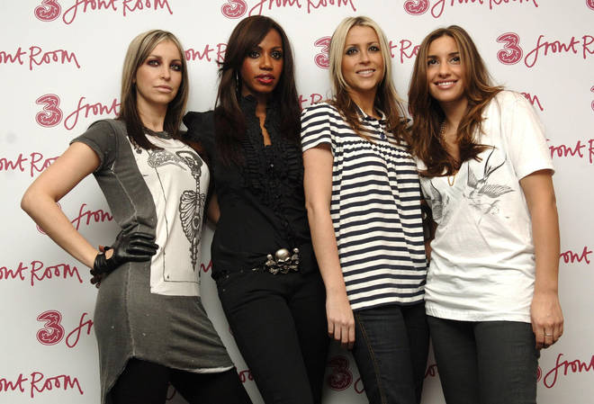 Nicole (left) pictured in 2006 with band All Saints