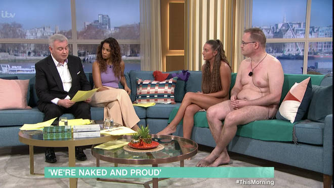 Eamonn Holmes and Rochelle Humes interviewed the naturists