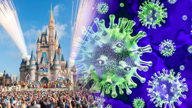 Disney have announced closures as the coronavirus continues to spread across the world