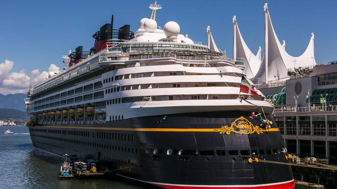 Disney Cruise's new departures will also be cancelled over the weekend