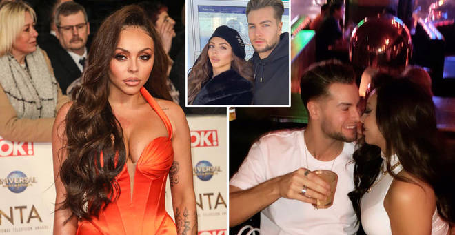 Jesy Nelson and her boyfriend Chris Hughes