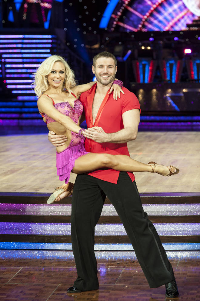 Ben and Kristina had been partners on Strictly.