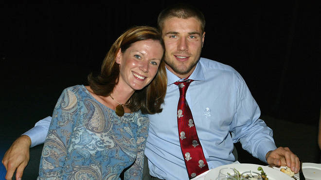 Childhood sweethearts, Ben and Abby, together in November 2003