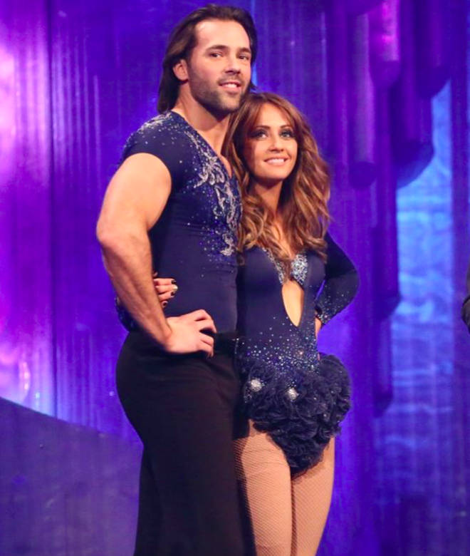 Samia and Sylvian on Dancing on Ice in 2013