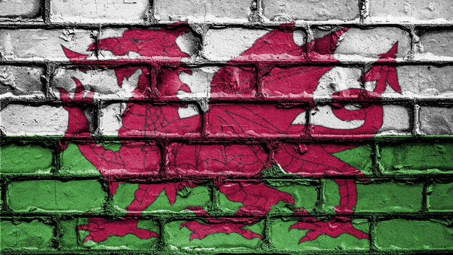 Welsh Flag Wall