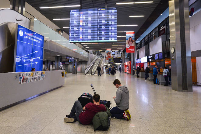 Flights are increasingly being cancelled as airlines scale back