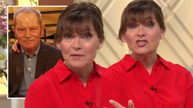 Lorraine Kelly admitted she was worried about visiting her 'high risk' dad