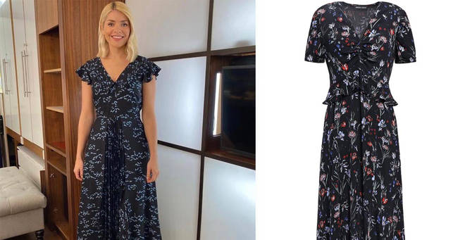 Holly Willoughby's This Morning dress is from Markus Lupfer