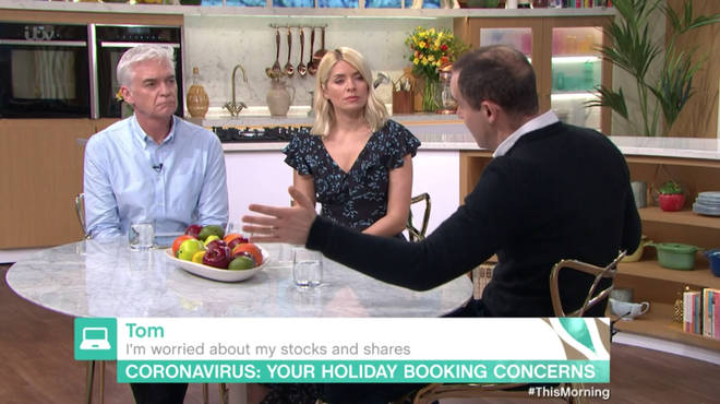 Martin Lewis appeared on This Morning to offer advice to the public