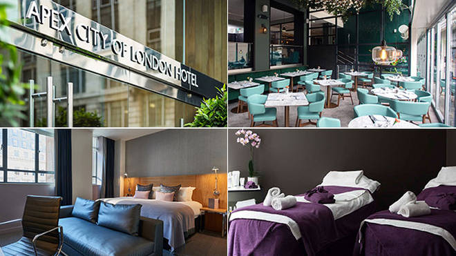 Explore the city and getaway with the Apex City of London Hotel