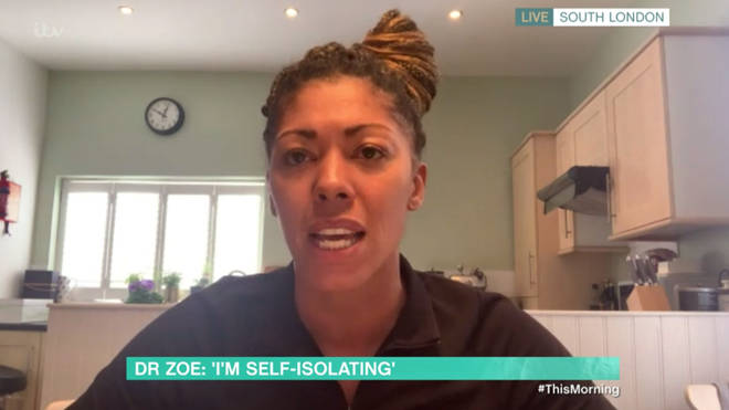 Dr Zoe believes she may have Coronavirus