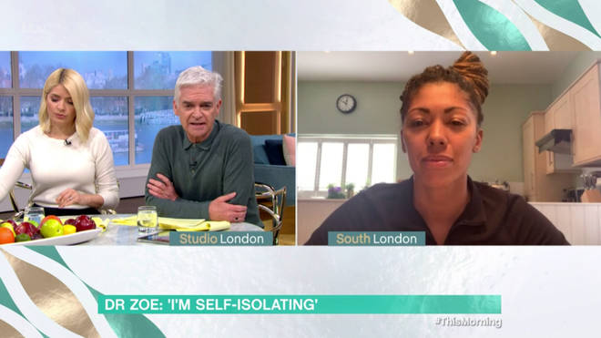 Dr Zoe revealed that she has 11 days left of self-isolation
