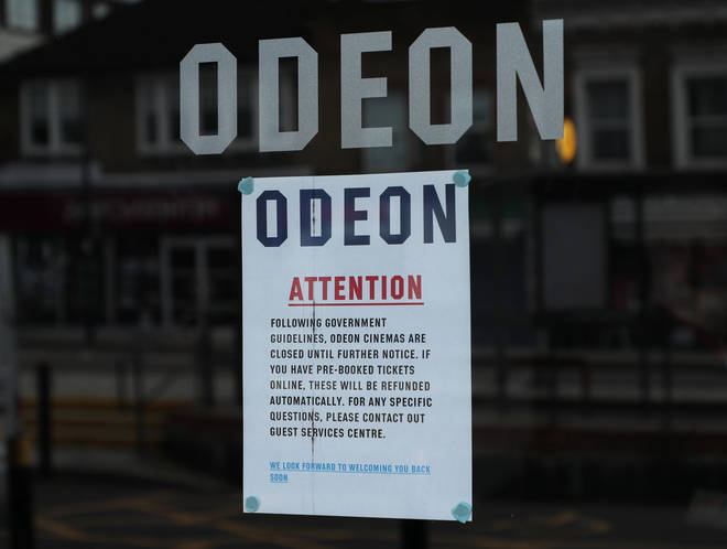 Odeon have closed their cinemas across the UK to stop the spread of the virus