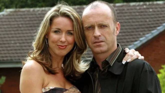 Paul Usher and Claire Sweeney on Brookside