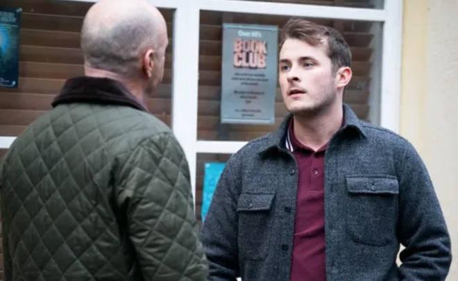Paul Usher is back on EastEnders as Danny Hardcastle