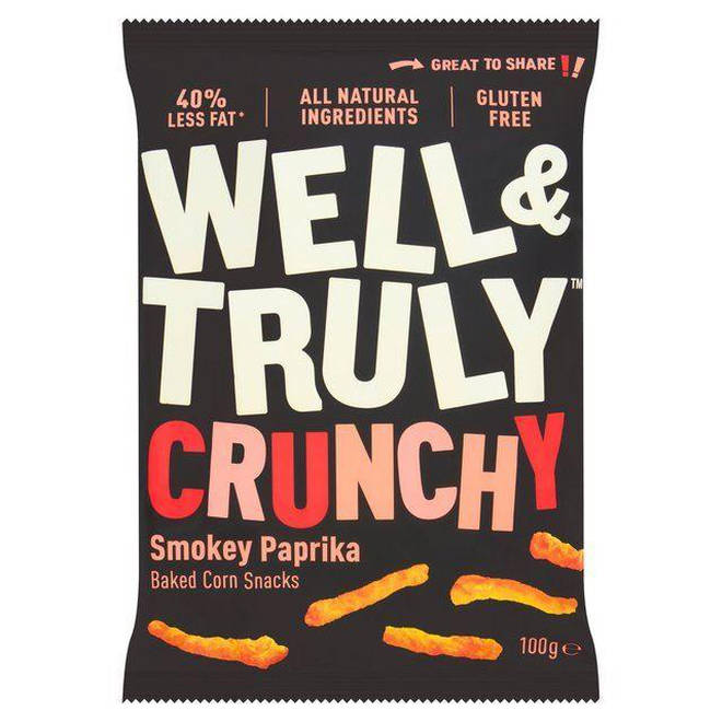Well & Truly Crunchy Smokey Paprika Snacks