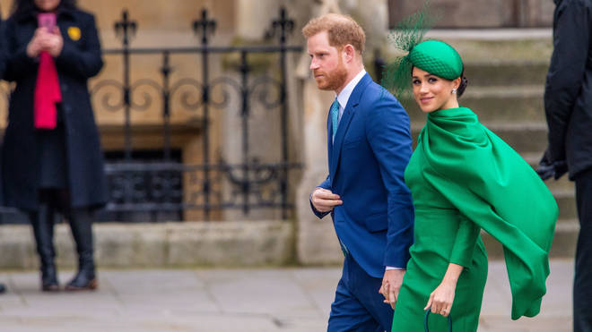 Meghan and Harry said they will be sharing information and support on the current COVID-19 situation
