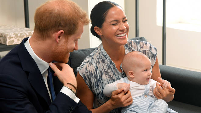 Meghan Markle and Prince Harry are in Canada with their son