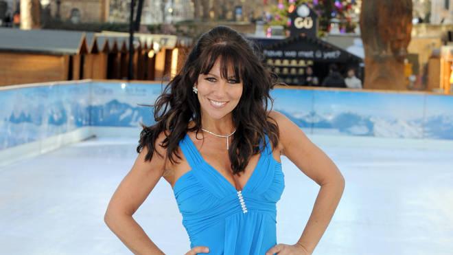 Linda Lusadi appeared on Dancing On Ice in 2008