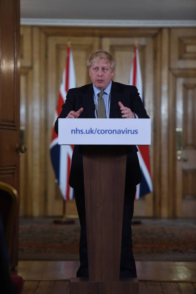 Boris Johnson is holding a coronavirus conference every day