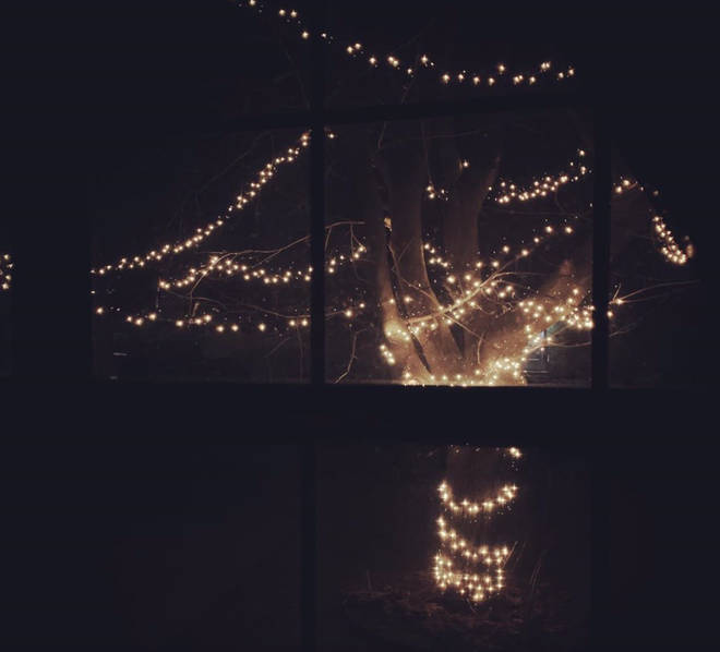 Others have put up Christmas lights outside in order to keep their neighbours happy