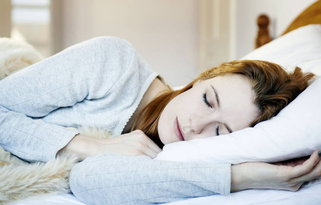 Many people have been struggling to sleep while feeling anxious about Coronavirus (stock image)