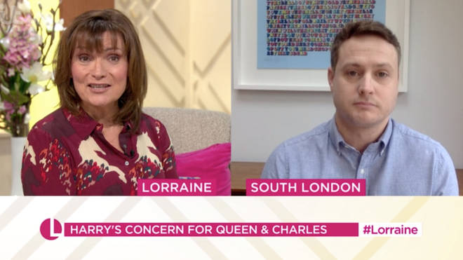 Royal editor Russell Myers told Lorraine that we could see the Queen address the nation in the future