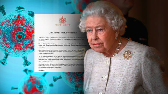 The queen broke her silence on COVID-19