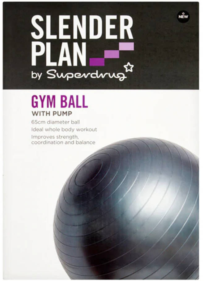 Superdrug gym ball