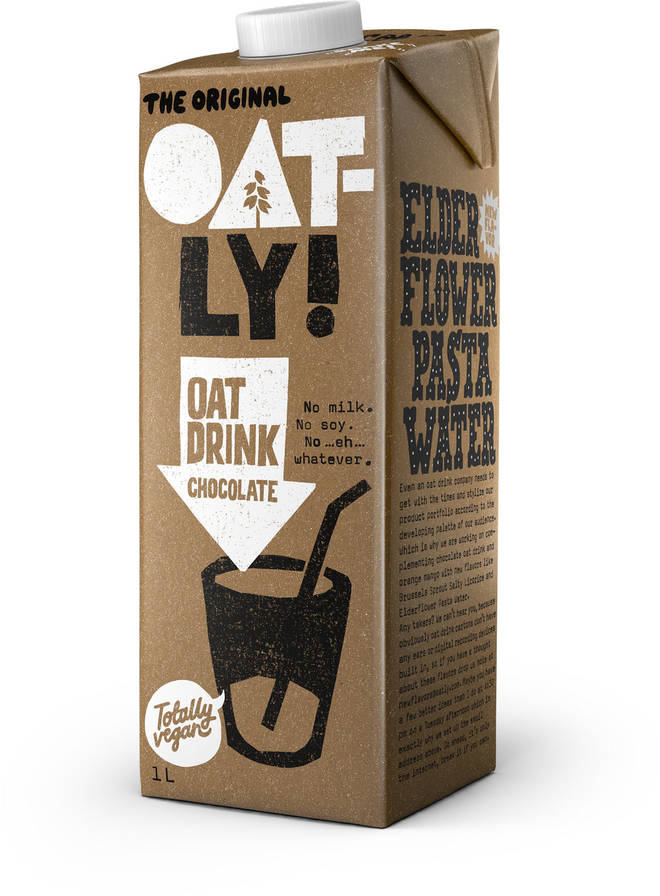 Oatly chocolate drink