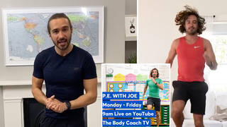 Joe Wicks is doing PE classes for children