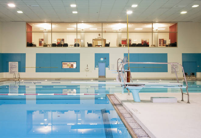 The government has advised against going to public spaces - which include swimming pools (stock image)