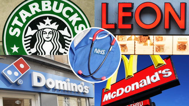 Brands across the UK are offering discounts for NHS workers