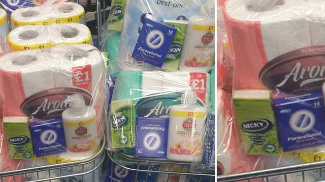 Special packs have been made during the Coronavirus outbreak